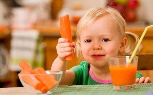 Морковный и тыквенный соки