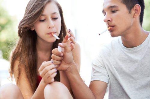 Причина онемения - курение
