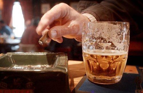 Курение и алкоголь надо бросить