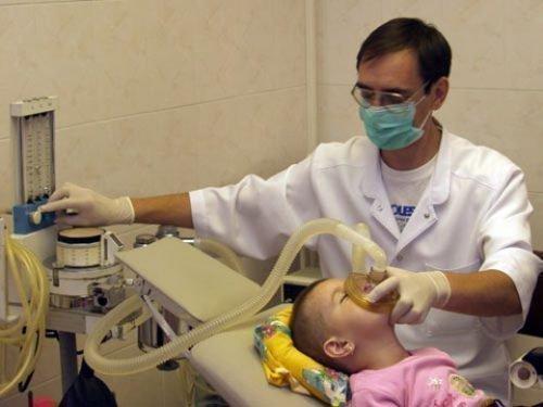 Масочная анестезия для детей