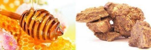 Мед и прополис для лечения болячек на языке