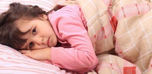 Нарушение сна и подавленность у ребенка