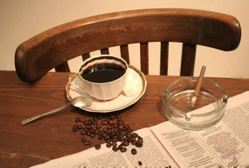 Кофе и курение - причина желтых зубов