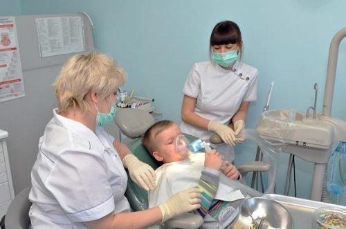 Удаление зубов под наркозом у детей