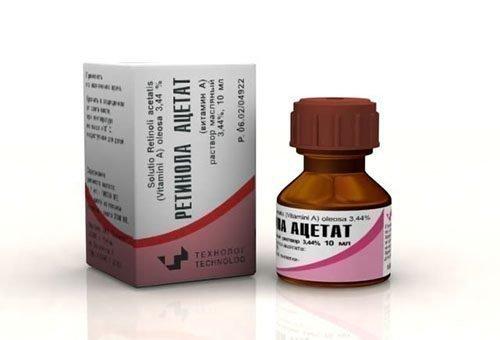 Витамин А при ожогах