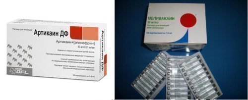 Препараты для торусальной анестезии