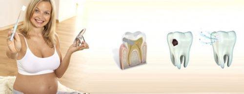Лечение зубов при беременности необходимо