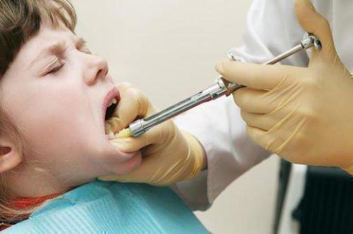 Анестезия проводникавая детям