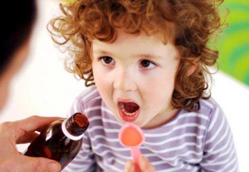 Лечение ребенка сиропом