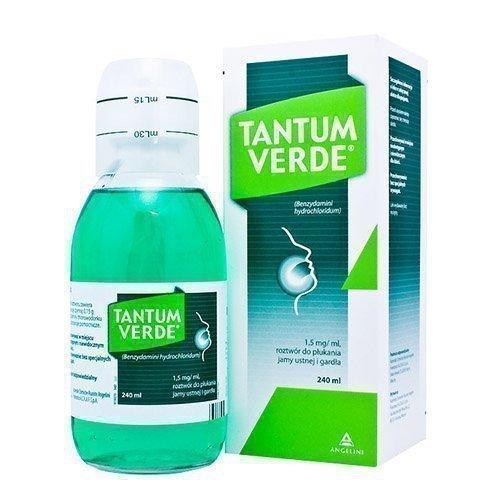 Тантум верде выпускается в виде таблеток и готового раствора