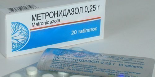 Метронидазол назначают при пародонтозе