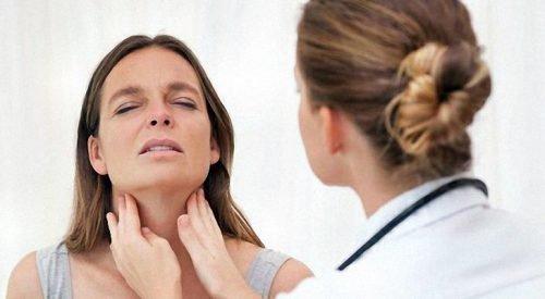 Боль в горле при остром тонзилите