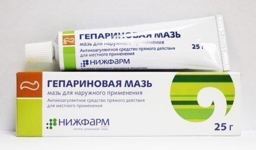 Гепариновая мазь - средство от пародонтоза