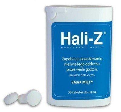 Таблетки Гали-З освежают дыхание и устраняют запах на время