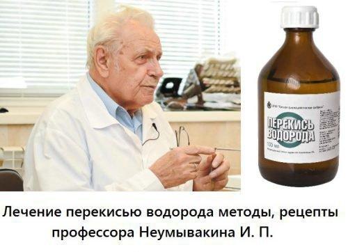 Лечение пародонтоза по Неумывакину - перекись