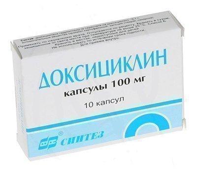 Доксициклин - антибиотик