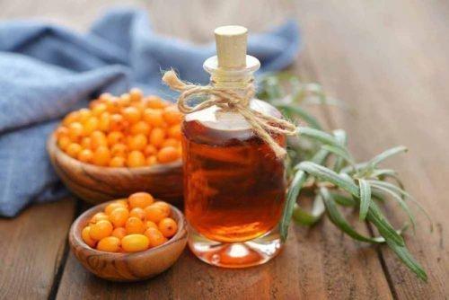 Облепиховое масло для массажа десен