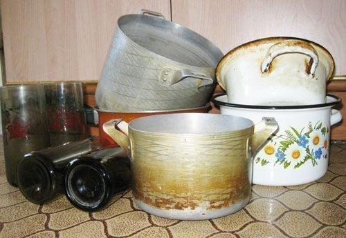 Опасная для человека посуда