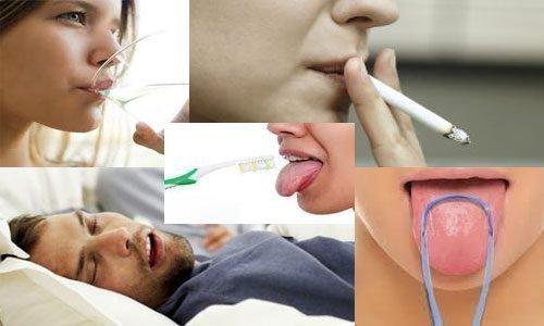 Причины, вызывающие сухость изо рта