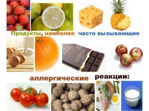 Продукты, вызывающие токсический тонзилит