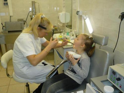 Процесс вымывания миндалин