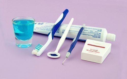 Средства ухода за полостью рта при кровоточивости