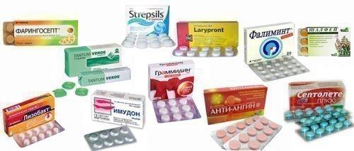Таблетки при запахе от ангины
