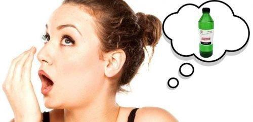 Запах ацетона - симптом серьезных заболеваний