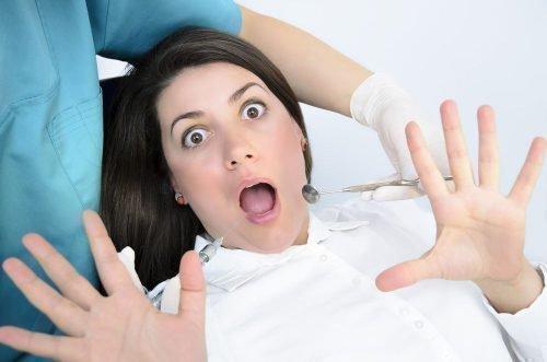 Боязнь стоматолога при лечении зубов