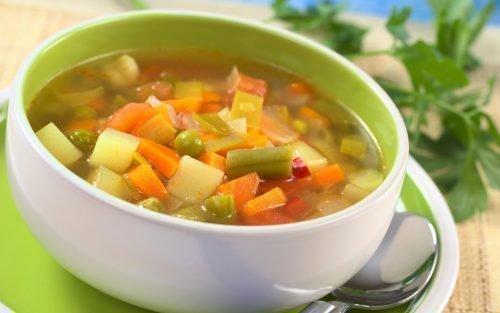 Диетический суп при ацетоне