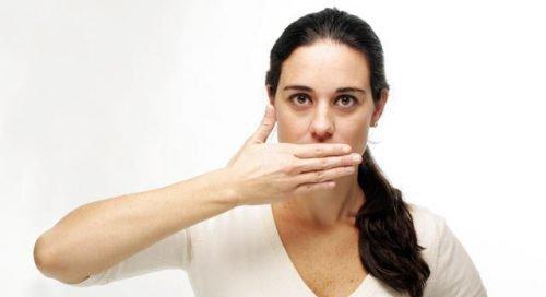 Неприятный запах дыхания - галитоз