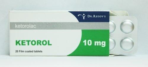 Кеторол в таблетках от боли