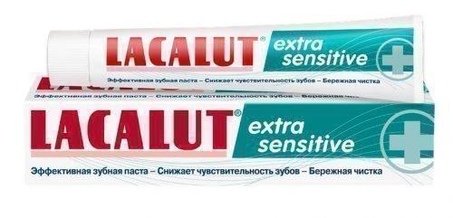Паста Лакалут Сенситив при чувствительности зубов