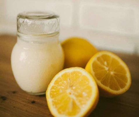 Соль и лимон от галитоза