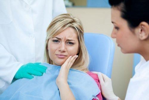 Свищ на зубе у беременной