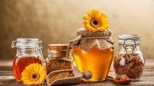 Мед и пыльца применяются в лечении флюса