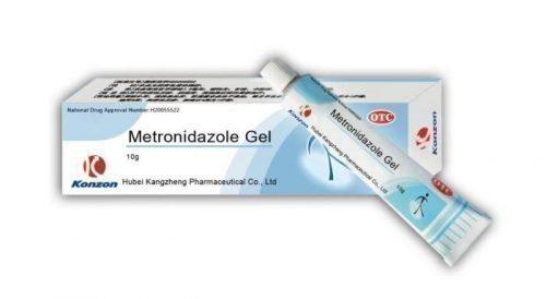 Антибиотик Метронидазол в виде геля для десен