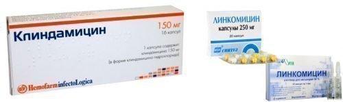 Клиндамицин и Линкомицин при гингивите