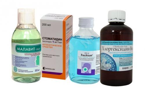 Препараты для полоскания десен