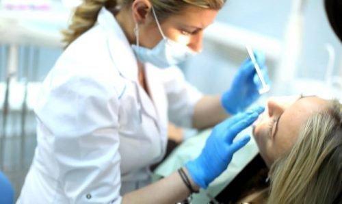 Посещение зубного врача